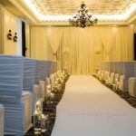 -M & A hotel ceremony set up